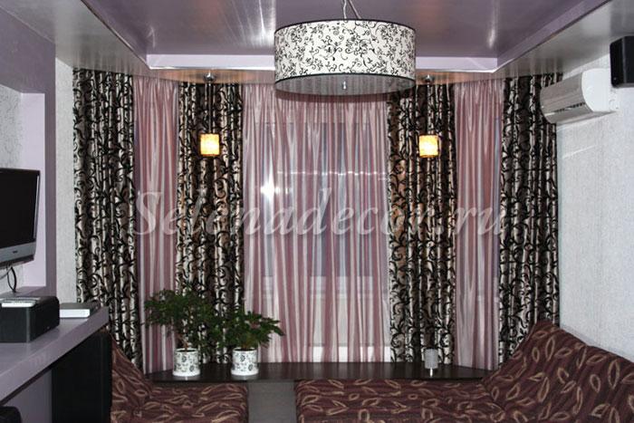 Дизайн интерьера дизайн и пошив штор